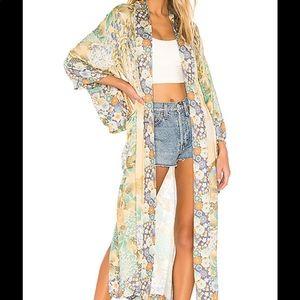 NWT Spell Willow Kimono. Size M/L
